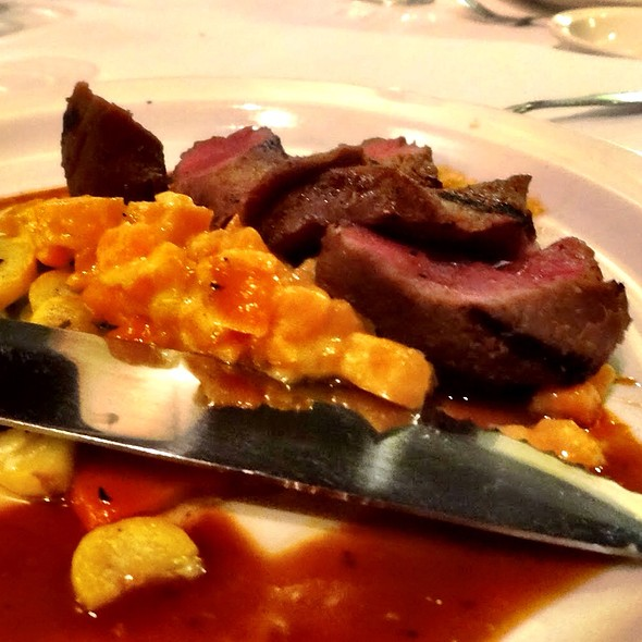 Lamb With Sweet Potato Risotto