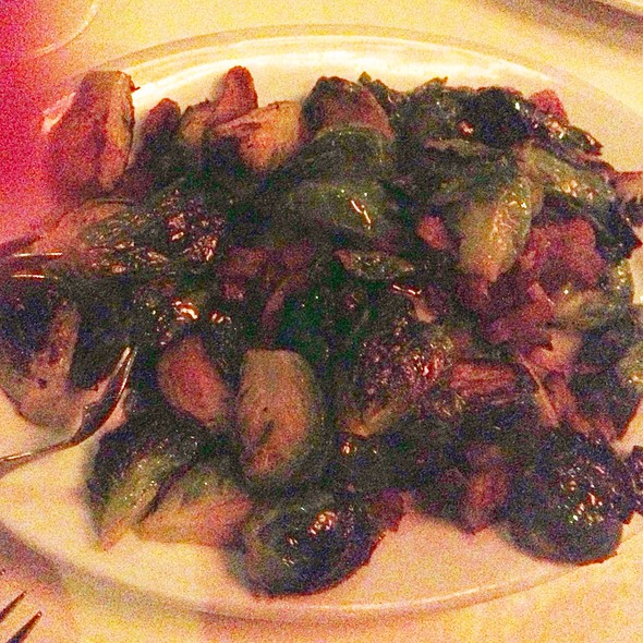 Pan Seared Brussels Sprouts - AQUA by El Gaucho, Seattle, WA