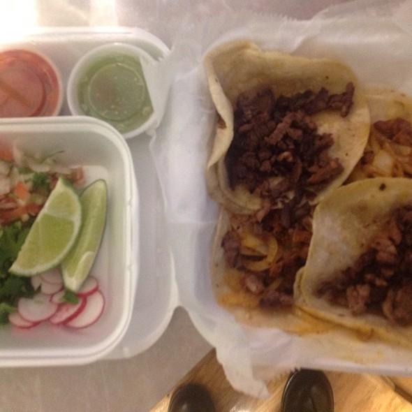 Al Pastor Taco @ Poncho's Taqueria