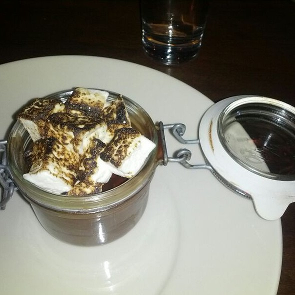 Potted Chocolate Pudding @ The Block Restaurant Butcher and Bar