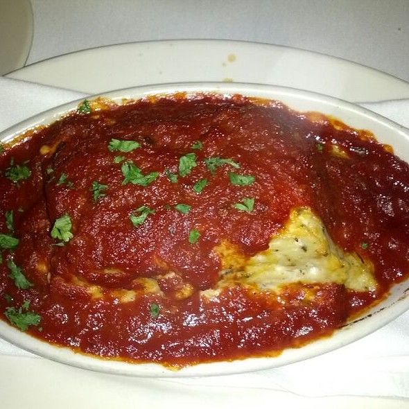 Baked Spaghetti Mangia @ Mangia Italiano
