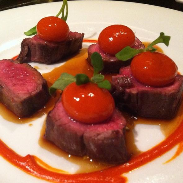 Seared Wagyu Flank Steak - The Bazaar by José Andrés, Los Angeles, CA