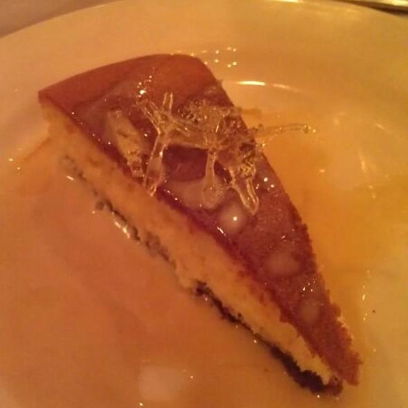 Double Ginger Cheese Cake @ Colgate Inn