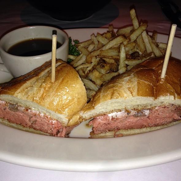 Prime Rib French Dip @ Bandera Restaurant-Brentwood