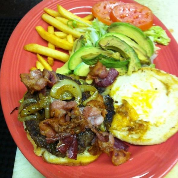 Mexian Burger @ La Casita Mexican Cuisine
