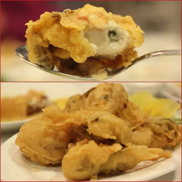 fried oysters @ Royal Garden Chinese Restaurant