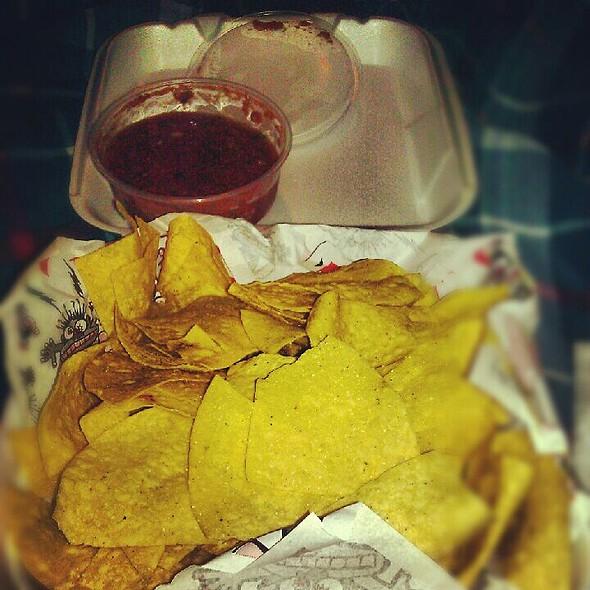 Chips and Salsa @ Tijuana Flats Burrito Company