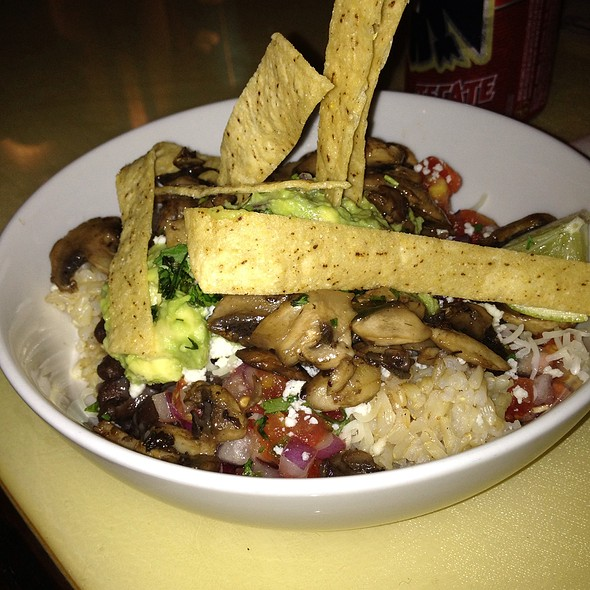 Mushroom Rice Bowl @ Mex 1 Coastal Cantina