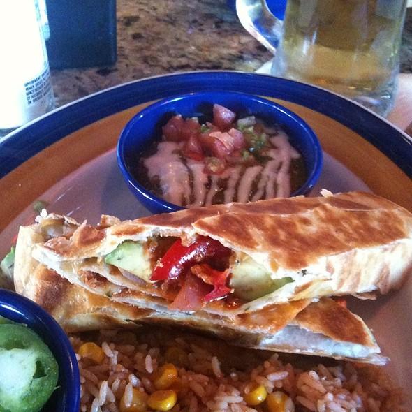 Avocado Enchiladas @ On The Border