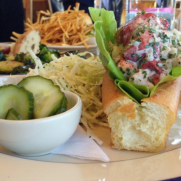 Lobster Roll (Sandwich) - Clark's Oyster Bar, Austin, TX