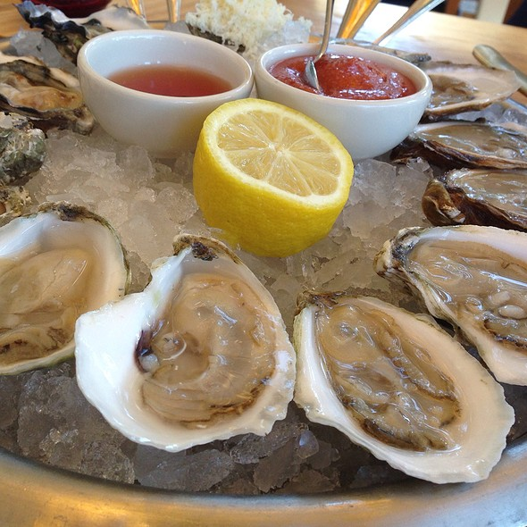 Oysters - Clark's Oyster Bar, Austin, TX