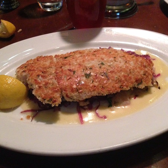Almond Crusted Whitefish - Di Pescara, Northbrook, IL