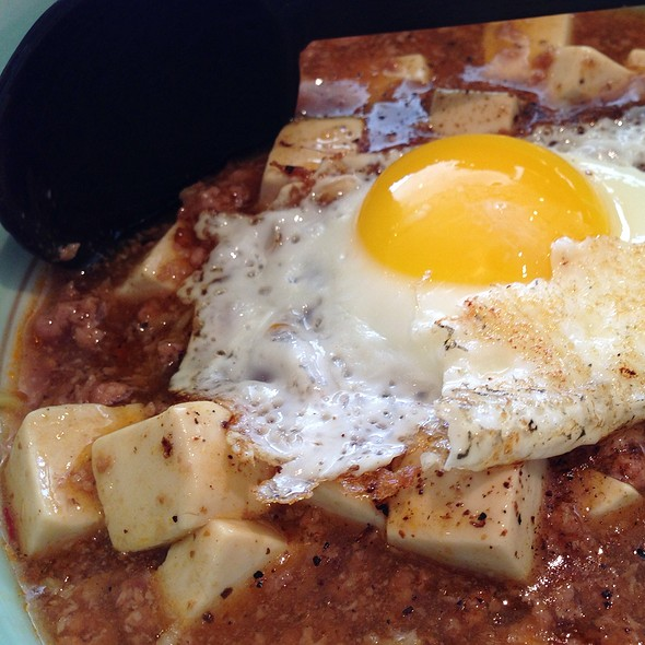 mabo tofu ramen @ Goma Tei Ramen
