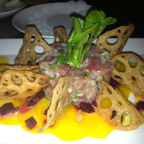 Tuna Tartare @ Big 4 Restaurant