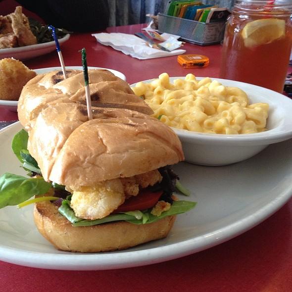 Shrimp Po Boy @ Hard Knox Cafe