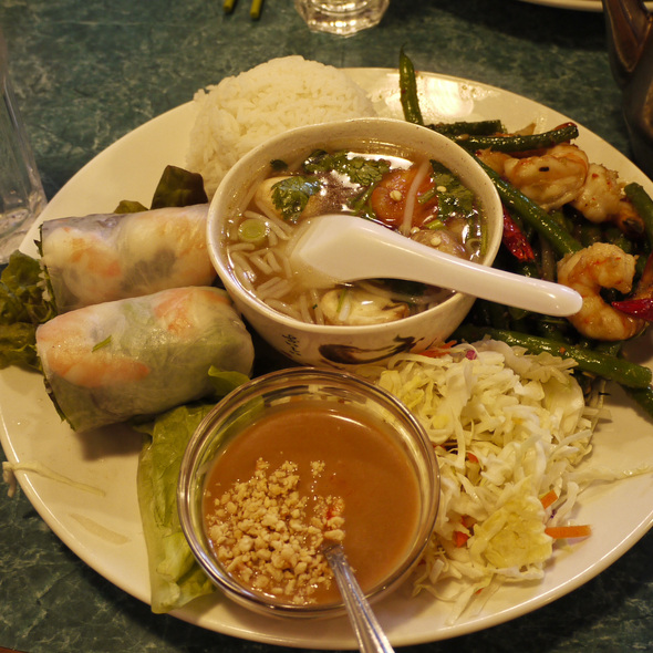 Combination Lunch @ Sunflower Authentic Vietnamese Restaurant