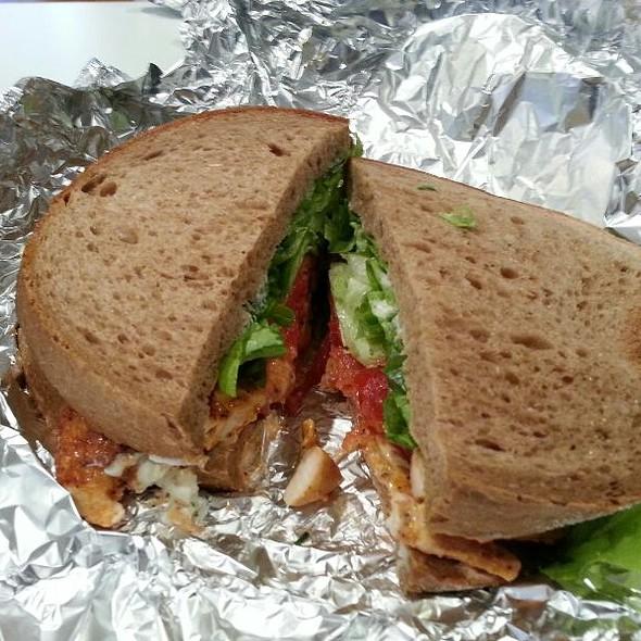 Chilli Chicken Sandwich @ Big Bite on Pitt