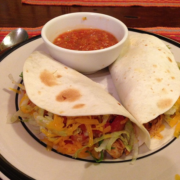 Soft Taco @ Iguana's Authentic Mexican Food