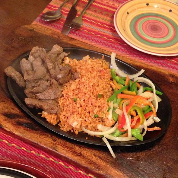 Beef Fajita @ Iguana's Authentic Mexican Food