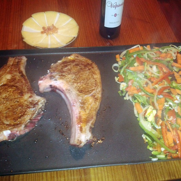 Grilled Veal Chop @ Churchilito