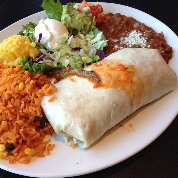 Fajita Burrito @ Chevys Fresh Mex