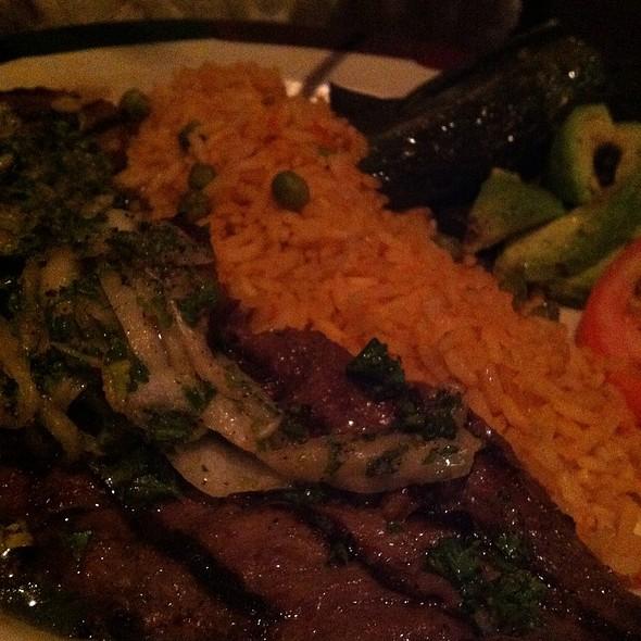 carne asada @ Cantina Laredo