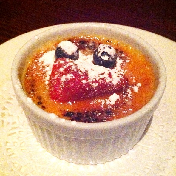 Wildfire Creme Brulee - Wildfire Steakhouse North York, Toronto, ON