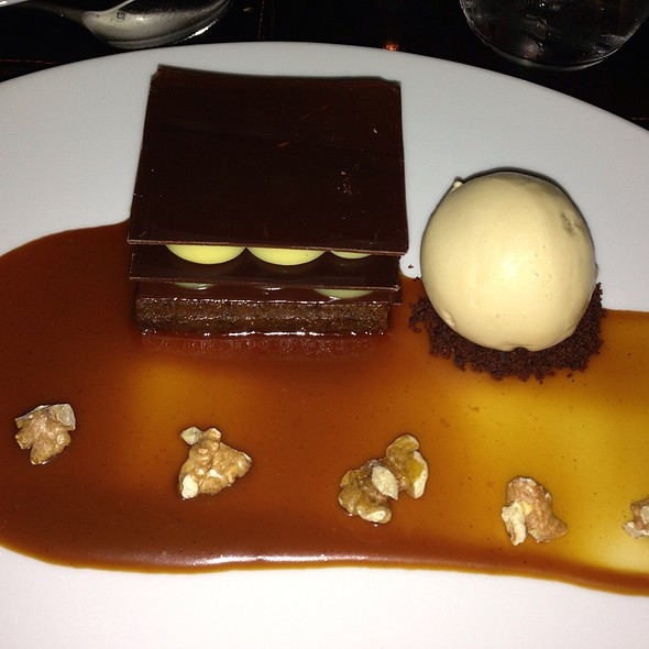 Chocolate And Banana Cream @ Scarpetta
