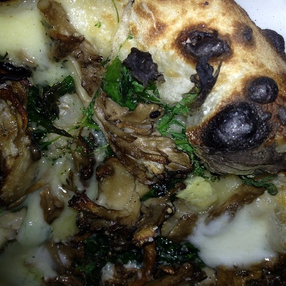 Funghi Pizza @ Flour and Water