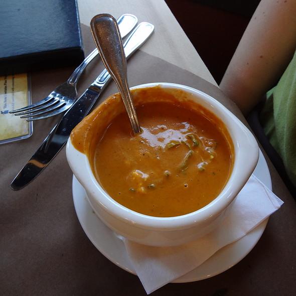 Tomato Basil Soup - Mia Bella Trattoria - Main Street, Houston, TX