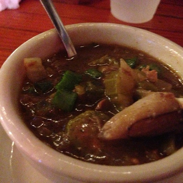 Seafood & Andouille Sausage Gumbo @ Coop's Place