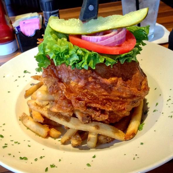Deep Fried Cheese Burger