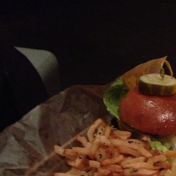 Grilled Chicken Monterey Jack Cheese Sandwich @ 8407 kitchen bar
