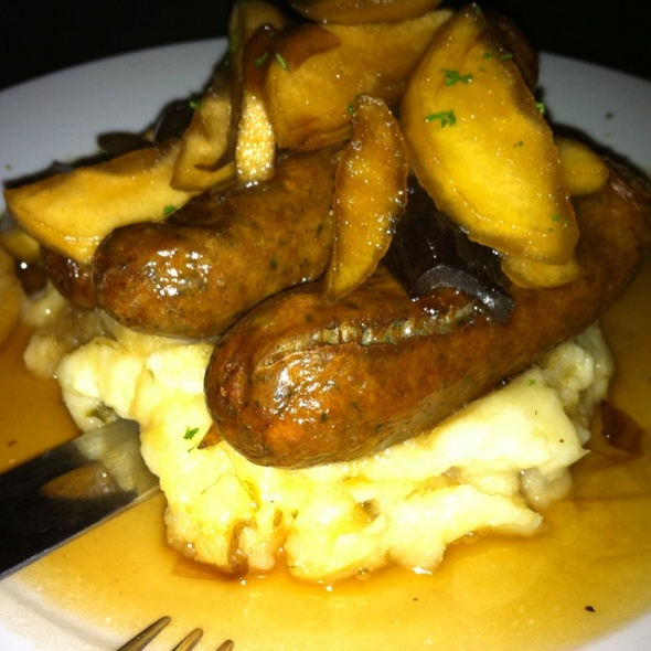 Bangers and Mash @ Brocach Irish Pub