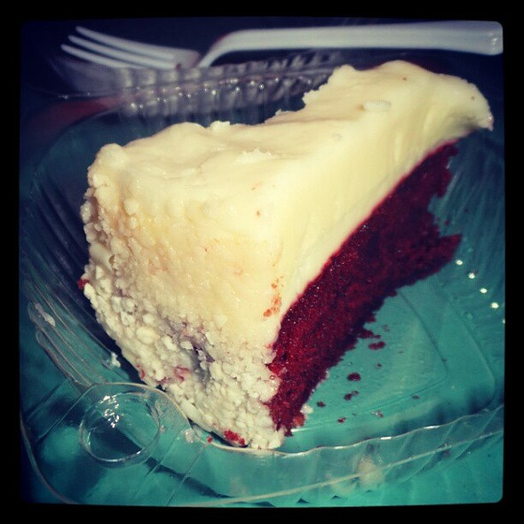 Red Velvet Cheesecake @ S&R Membership Shopping