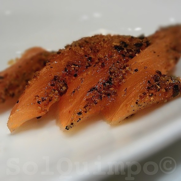 Spice-cured Salmon