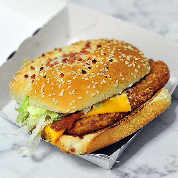 Chicken McNifica @ McDonald's