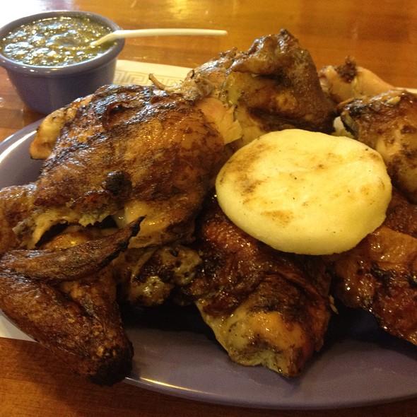 Rotisserie Chicken @ Brasa Roja Restaurant