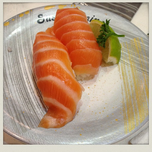 Salmon Nigiri @ Sushi Train Carseldine