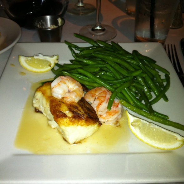 Chiliean Sea Bass & Green Beans