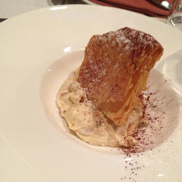 Mousse Di Marroni Con Crosta @ Rossini Pescheria