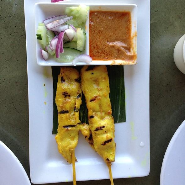 Chicken Satay At Celadon Thai Kitchen