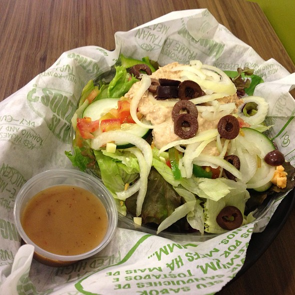 Tuna Salad @ Quiznos