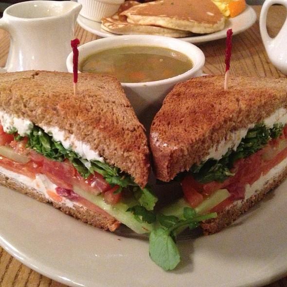 Smoked Salmon Sandwich @ Good Enough To Eat