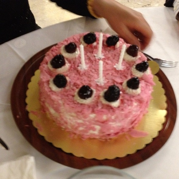 Mum's Birthday Cake @ Home