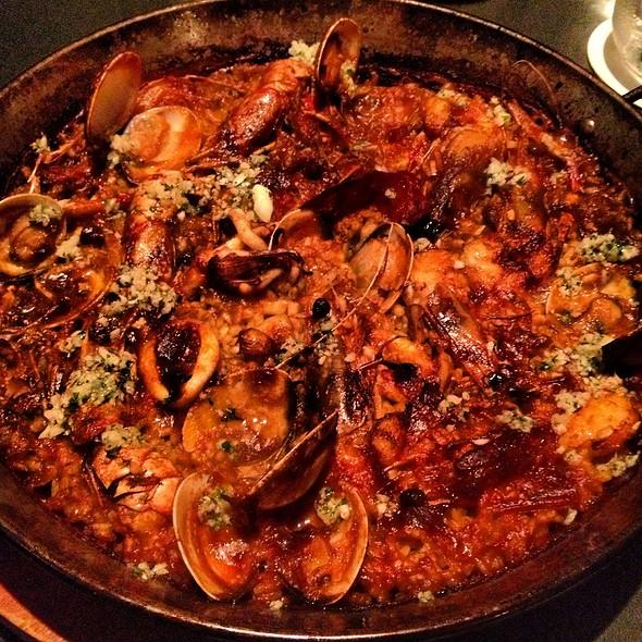 Langoustine Squid & Prawns Paella @ Bomba Paella Bar