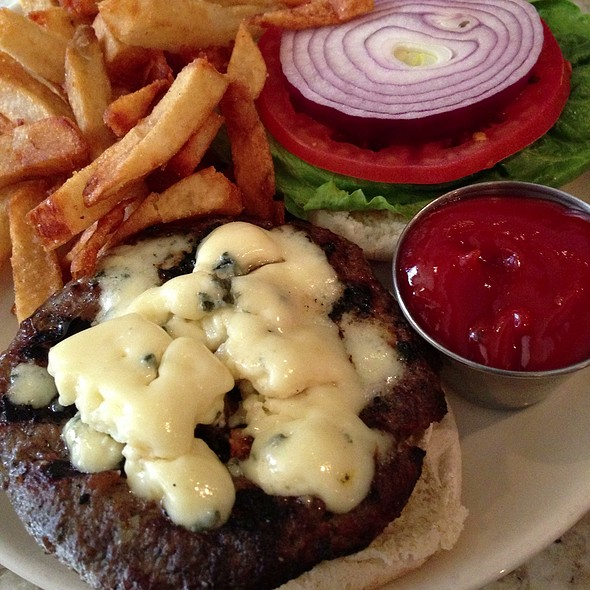 Bluecheese Burger - Rye House, New York, NY