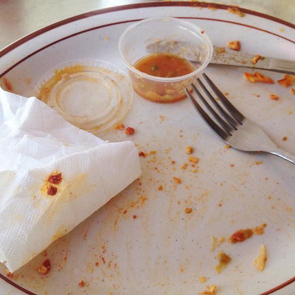 Chorizo Burrito @ Headlines Diner & Press Club