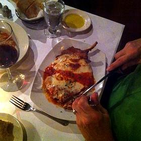 Pork Chop Bolognese