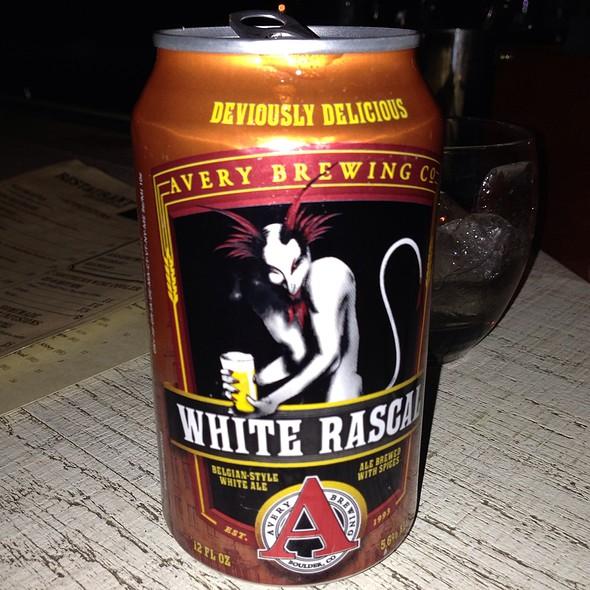 White Rascal Beer - The Twisted Tail, Philadelphia, PA